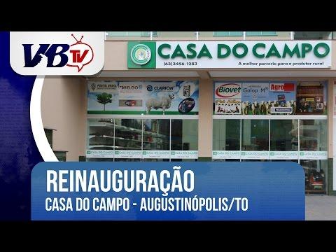 VBTv | Casa do Campo � reinaugurada com nova estrutura