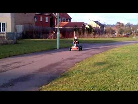 Prep for 2014 Winter Olympics 2 Man Bob (Go Kart)