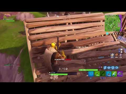 eerste video meteen een win [wailing woods landen voor challenge]