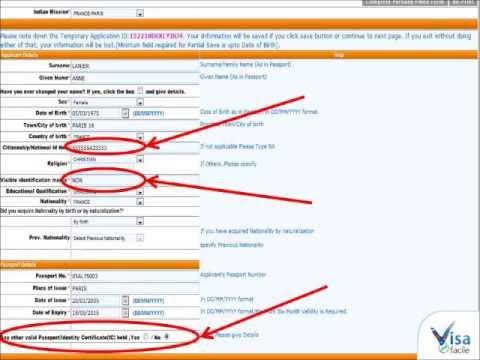comment remplir le formulaire de demande de visa pour l 39 inde la r ponse est sur. Black Bedroom Furniture Sets. Home Design Ideas