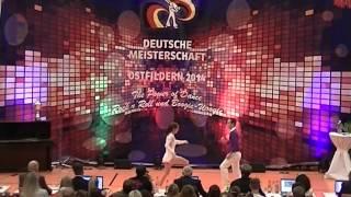Magdalena Schramm & Christoph Quergfelder - Deutsche Meisterschaft 2014