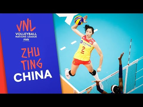Zhu Ting Is Ready To Spike China Past The Competition | VNL Stars | Volleyball Nations League 2019