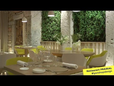 Restaurant Prairial - Finaliste 2017 #lyonshopdesign