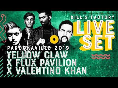 PAROOKAVILLE 2019 | YELLOW CLAW x FLUX PAVILION x VALENTINO KHAN