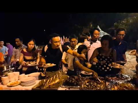Team Building Outdoor organized by Travelogy Vietnam for group MI2 in Quang Binh 2015