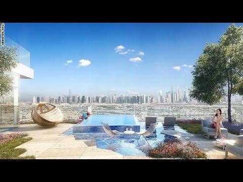 العرب اليوم - بالفيديو : دبي تعلن إنشاء بركة سباحة وحديقة في الهواء