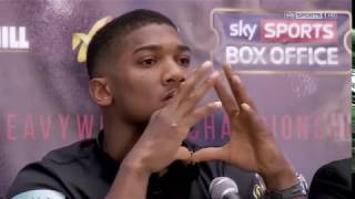 Anthony Joshua vs Romesh and Rob 2017