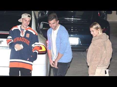 Justin Bieber And Hailey Baldwin Have Fun At Church After Spending A Few Days Apart