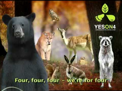 Must See Funny Singing Animal Music Video Political Ad