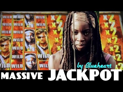 "★★MASSIVE JACKPOT★★ ""AS IT HAPPENS"" The WALKING DEAD 2 slot machine JACKPOT HANDPAY WIN!"