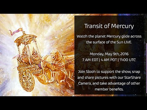Watch A Livestream Of Mercury s Transit Across The