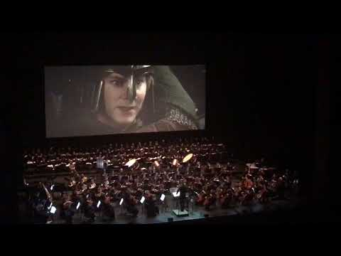 The Lord of the Rings Rohirrim Charge Scene Live in Concert Istanbul 13-04-2018