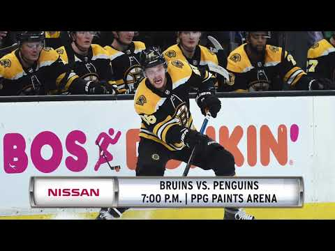 Video: Nissan Morning Drive: Bruins Go For Fourth Win In A Row Against Penguins