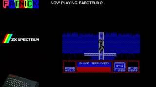 Saboteur II [Mission 1] (ZX Spectrum) by mechafatnick