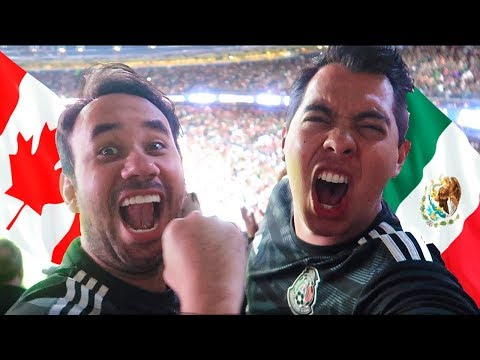 MEXICO VS CANADA (3-1) - MI DEBUT EN COPA ORO