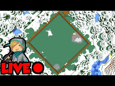 Let's Play Minecraft LIVE (Quarry Dig 1)