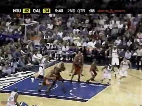 Rockets Highlights vs Mavericks - 2005 Playoffs Game 2