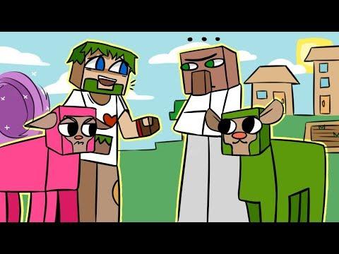 09. БОЛЬШАЯ ТАЙНА ЖИТЕЛЕЙ ДЕРЕВНИ!! - Lp.Выживший (Minecraft Let's Play)