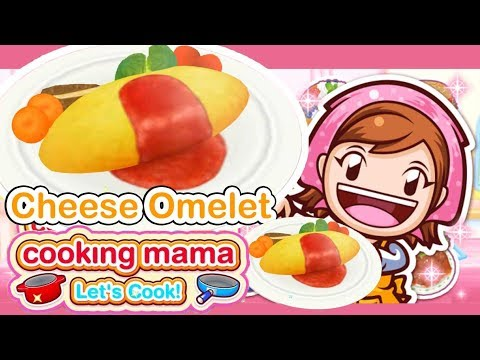 Cooking Mama Let's Cook ! - Let's Make Cheese Omelet - Funny Gameplay Video Games Android