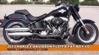 10. New 2013 Harley Davidson FLSTFB FatBoy Lo for sale call Price Specs