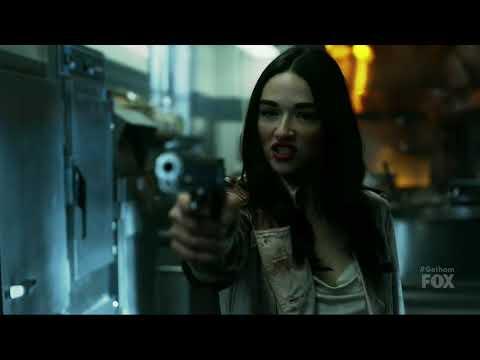 Gotham Season 4 Episode 15 Lee Saves Gordon & Gets Her Revenge On Sofia