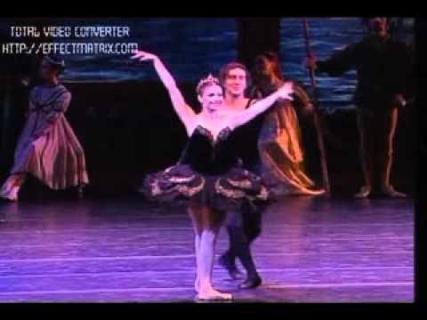 Black Swan pas de deux Alina Cojocaru Julio Bocca Last Perfomance