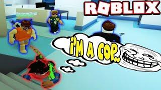 FAKE COP TROLLING!!! *BRIBED* (Roblox Jailbreak)