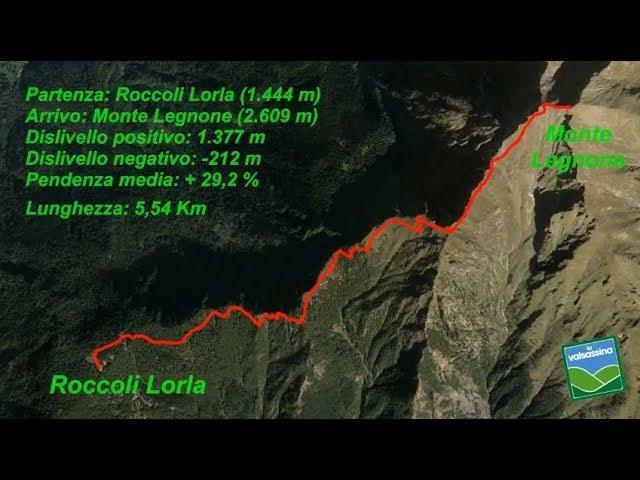 Dai Roccoli Lorla al Monte Legnone