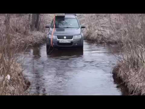 SUZUKI GRAND VITARA На бездорожье (видео)