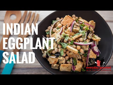 Mission Indian Eggplant Salad | Everyday Gourmet S6 EP50