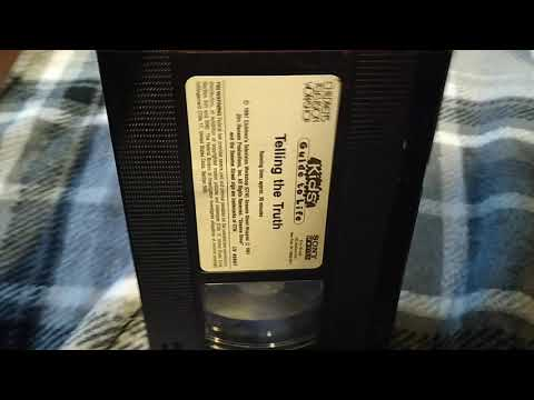 Sesame Street: Telling the Truth: VHS Review