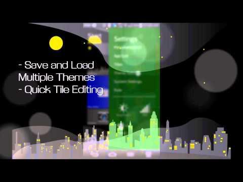 Video of Androse - Windows 8 Clone