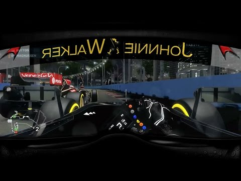 F1 - F1 2014 Gameplay: Singapore Grand Prix With Helmet Cam effect and Online Multiplayer Fails Follow me on Twitter - https://twitter.com/Tiametmarduk Facebook ...