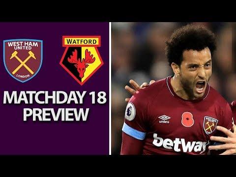 Video: West Ham United v. Watford | PREMIER LEAGUE MATCH PREVIEW | 12/22/18 | NBC Sports