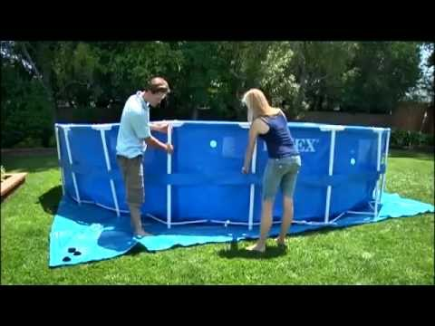 Metal Frame Pool Installation