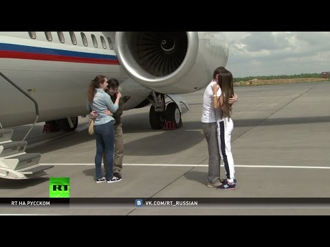 Россияне Ерофеев и Александров вернулись на родину