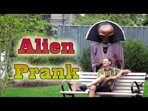 Alien Prank Invasion