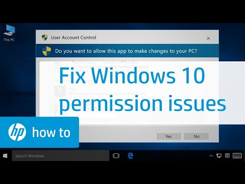 Resolving Permission Issues When Installing Software in Windows 10