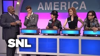 Video Celebrity Family Feud: American and International Musicians - SNL MP3, 3GP, MP4, WEBM, AVI, FLV Maret 2019