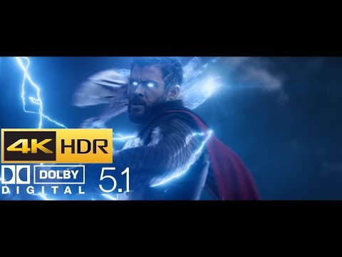 Avengers: Infinity War - Thor Arrives in Wakanda (HDR - 4K - 5.1)