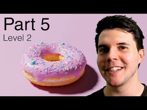Blender Beginner Tutorial Level 2 - Part 5: Final Donut