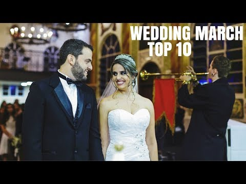 Top 10 Wedding March For Walking Down The Aisle | Best Wedding Songs Entrance (Mendelssohn)