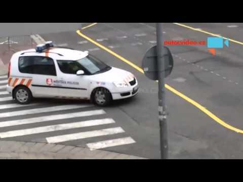 Městská policie rozdává pokuty