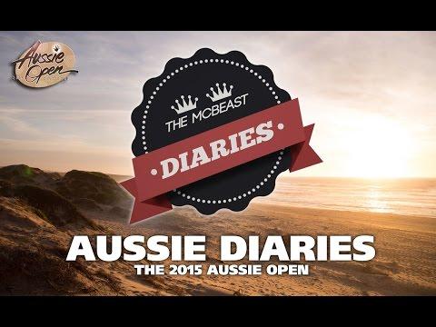 McBeast Diaries: The 2015 Disc Golf Aussie Open