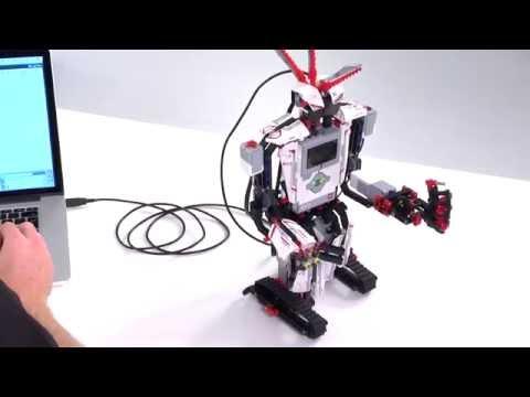 LEGO Education EV3 Программирование 4 | Создание программы управления роботом