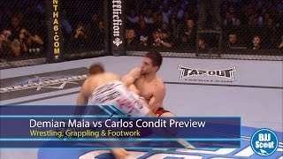 Nonton Bjj Scout  Demian Maia V Carlos Condit Preview   Wrestling  Grappling   Footwork Film Subtitle Indonesia Streaming Movie Download