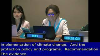 Hema Wihongi's intervention at 7th Meeting during the HLPF 2017: UN Web TV - http://webtv.un.org