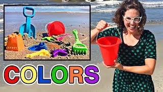 Best Learning Colors Video for Kids Learn Colours at the Beach & Summer Fun Playtime with Sand Toys for Children & Toddlers by Organic Learning.  Please take a moment to LIKE our family and kid friendly educational video, SHARE it with family & friends, and SUBSCRIBE to our Organic Learning channel… Your help and support are greatly appreciated!  Subscribe to our YouTube Channel:  http://www.youtube.com/subscription_center?add_user=OrganicLearning Follow us on Twitter:  https://twitter.com/OrganicLearningFollow us on Instagram:  https://instagram.com/OrganicLearningOfficial Website:  https://OrganicLearning.com - Fun Toy Giveways, Coloring Downloads, & More.Video Created by Megan McIver: https://www.meganmciver.comFollow her on Instagram: https://www.instagram.com/hellomeganmciverCheck out her YouTube channel:  https://www.youtube.com/channel/UC3PXAioH4Cf5IqY2MkkV4JQDirector of Photography and Sound Mixer: Terence Deutsch @soundsgoodterenceThis fun, educational, kid-friendly early learning video uses colorful sand toys to teach kids, children, toddlers, babies, special needs children, and children with learning disabilities about the colors Red, Green, Yellow, Blue, Orange, Purple, Pink.  We hope you and your child have fun learning about colors or colours as we continue this series of learning basic colors videos for kids!Official Merchandise:  http://organiclearning.spreadshirt.com/Link to Share this video: https://youtu.be/rKWn7oHmH1c**** Organic Learning Playlists & Videos ****Learning Street Vehicles for Kids (42 Mins) CaOrganic Learning Playlists & Videos:Learning Street Vehicles for Kids (50 Mins) Cars and Trucks by Hot Wheels, Matchbox, Tomica, Siku:https://youtu.be/_rLz4DIfBnMLearning Street Vehicles for Kids (44 Mins) Cars and Trucks - Hot Wheels Matchbox Tomica Disney Tayo:https://youtu.be/NONKAr8HEGkLearning Street Vehicles for Kids (38 Mins) Cars and Trucks - Hot Wheels Matchbox Tomica Disney Tayo:https://youtu.be/ZpiYOSqiTDQLearning Street Vehicles for