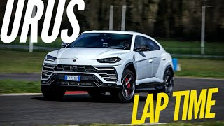 Lamborghini URUS : lap time at Magny-Cours Club by Motorsport Magazine
