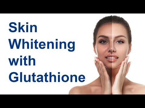 Skin Whitening with Glutathione